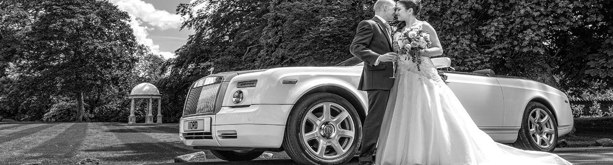 Mile5 Limited Services - Wedding Cars Bride and Groom Near Vintage Car Whitewashed